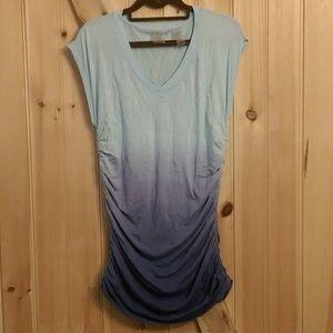Dip Dye Jersey Tunic